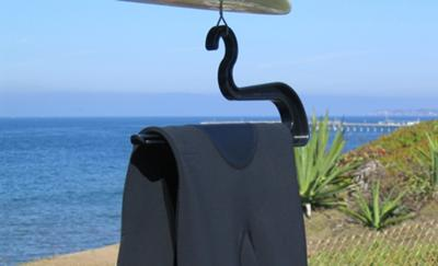 Hanging A Wetsuit Properly