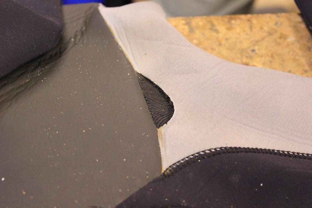 wetsuit repair rip