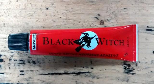 Using Black Witch neoprene glue