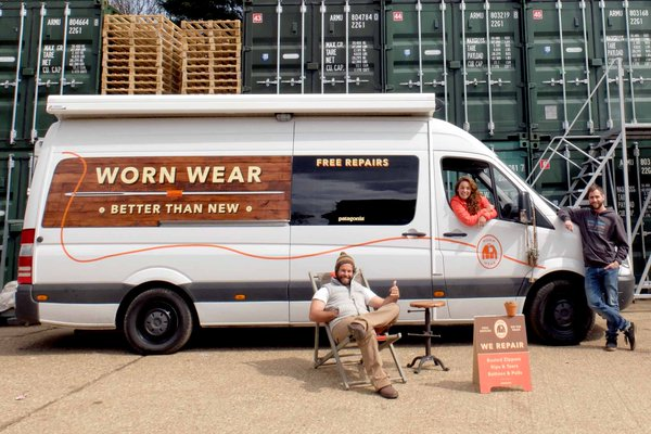Patagonia Worn Wear Tour Bus