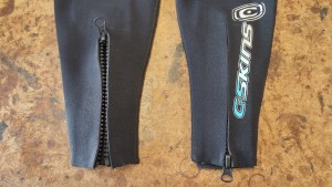 wetsuit zip repair fitting zips