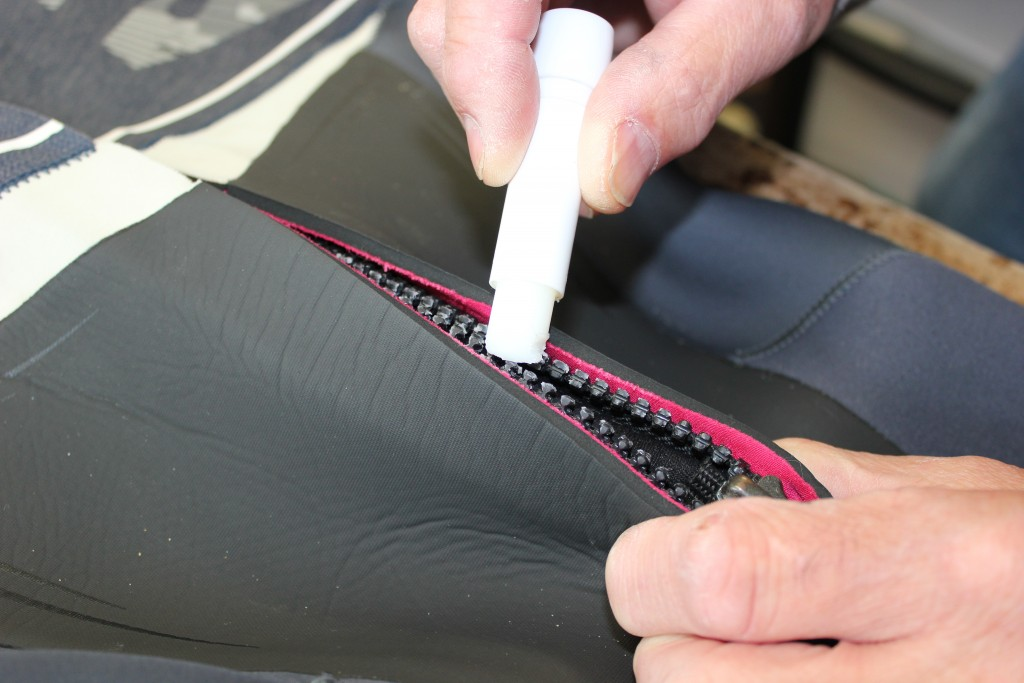 wetsuit zip repair aquaseal zip tech